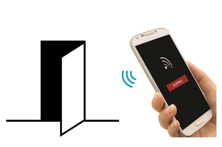 controllo accessi azienda smartphone