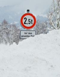 Controllo e pesatura neve