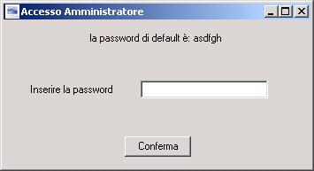 accesso amministratore