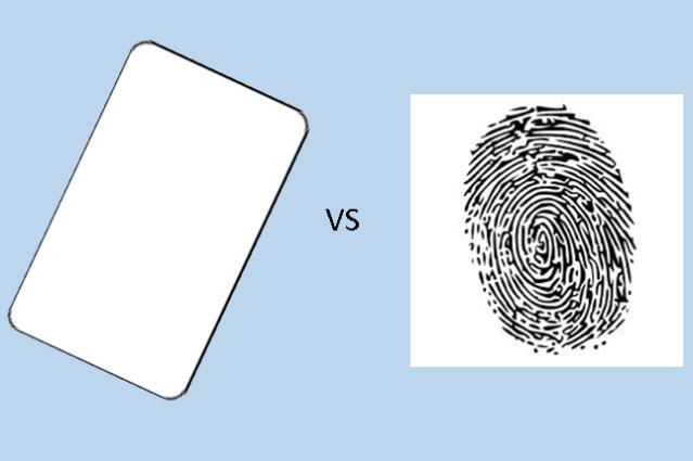 Lettore di badge o di Impronte Digitali