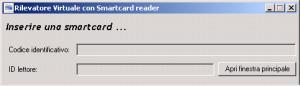 smartcard nella rilevazione delle presenze finestra mini