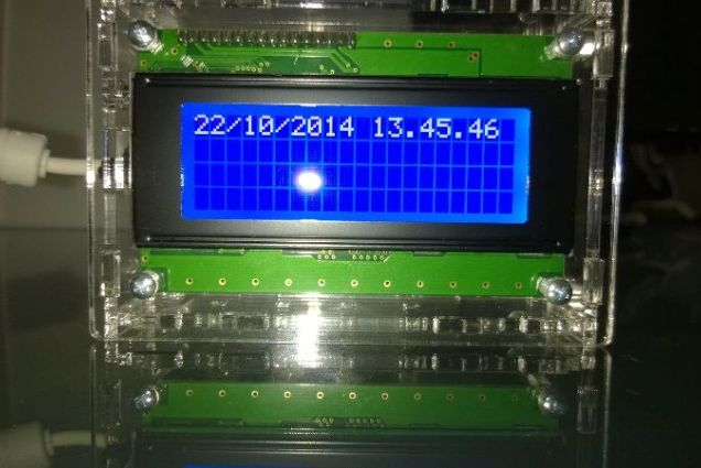 Display LCD segna ore