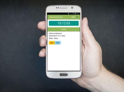 Registro presenze tramite smartphone
