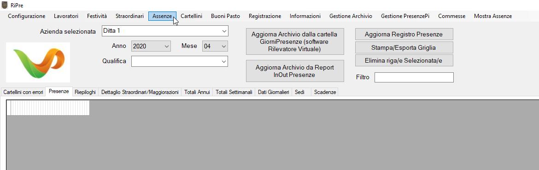 Guida-Assenze-Ripre-schermata-iniziale