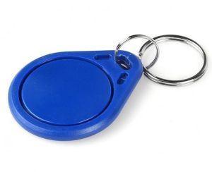 Immagine di Badge RFID 125 khz - Portachiavi BLU