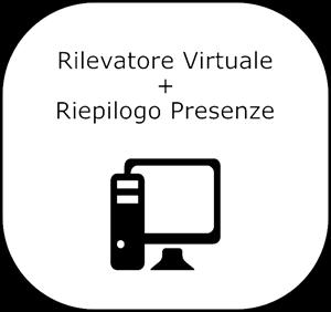 Immagine di Pacchetto Rilevatore Virtuale PRO  + Riepilogo Presenze