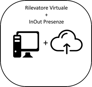 Immagine di Pacchetto Rilevatore Virtuale PRO  + InOut