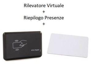 Immagine di Pacchetto Rilevatore Virtuale PRO  + Riepilogo Presenze + Lettore RFID