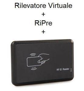 Immagine di Pacchetto Rilevatore Virtuale PRO  + RiPre + Lettore RFID