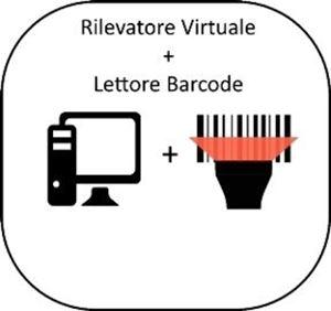 Immagine di Pacchetto Rilevatore Virtuale PRO  + Riepilogo Presenze + Lettore barcode