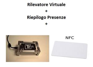 Immagine di Pacchetto Rilevatore Virtuale + Riepilogo Presenze + Lettore di Badge NFC + 10 Badge