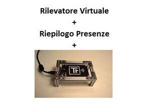 Immagine di Pacchetto Rilevatore Virtuale PRO  + Riepilogo Presenze + Lettore NFC