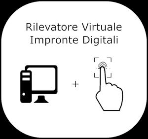 Immagine di Pacchetto Rilevatore Virtuale - Riepilogo Presenze- Lettore di Impronte