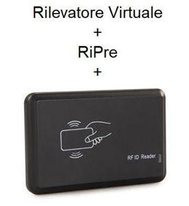 Immagine di Pacchetto Rilevatore Virtuale PRO  + RiPre + Lettore RFID + badge